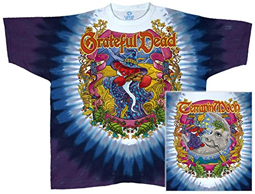 (Grateful Dead-Terrapin Moon T-Shirt Size L)