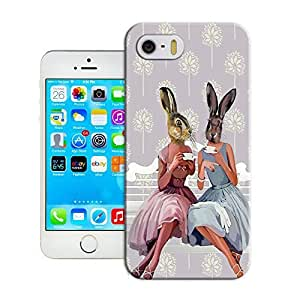 phone covers Rabbit enjoy her happy time best protective case for iPhone 5c /5c for sale