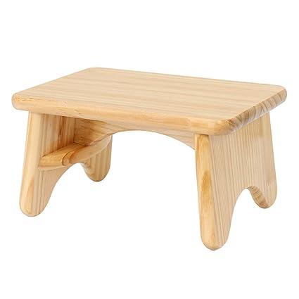 Awe Inspiring Amazon Com Stools Stool Stool Solid Wood Small Bench Customarchery Wood Chair Design Ideas Customarcherynet