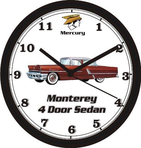1955-mercury-monterey-4-door-sedan-wall-clock-free-usa-ship