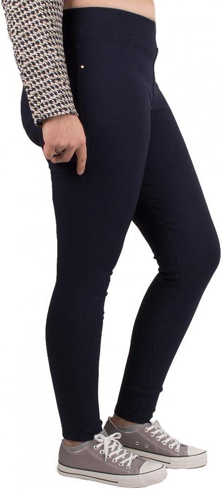 Primtex Jegging Grande Taille Femme Stretch Taille Haute Grande Taille du 42 au 52