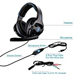SADES SA810 New Version Xbox One Gaming Headset Headphones with Microphone and PC