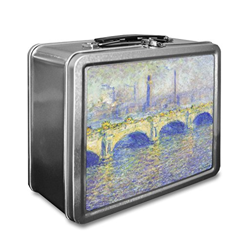 Waterloo Bridge by Claude Monet Lunch Box - Claude Monet Waterloo Bridge