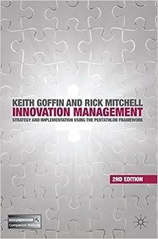 Book Innovation Management: Strategy and Implementation using the Pentathlon Framework