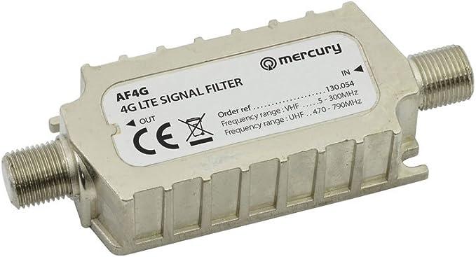 Filtro de señal LTE 4 g de Mercury