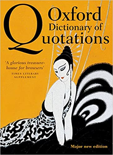 amazon oxford dictionary of quotations elizabeth knowles
