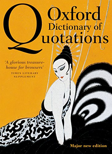 Best oxford dictionary of quotations for 2020