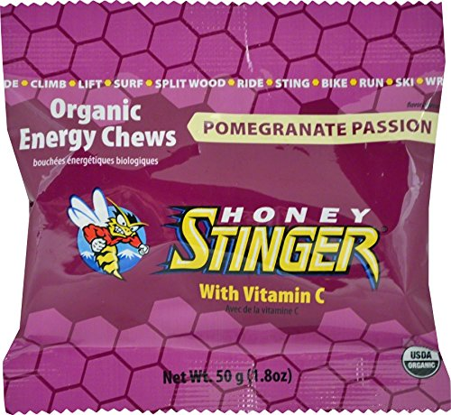 Organic Energy Chews - Pomegranate Passionfruit 12/1.8 Ounce (50 g) ()