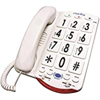Clarity 76557.101 JV35W Moderate Hearing Loss Amplified Corded Phone