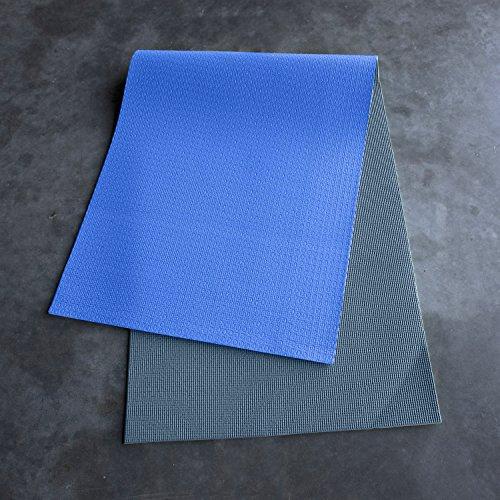CAP Reversible Yoga Mat, Blue/Gray