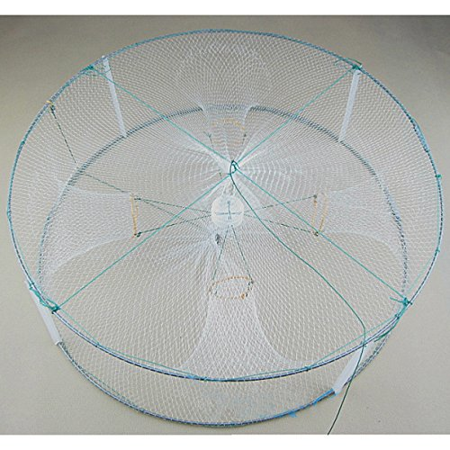 SUIE Foldable Fishing Bait Trap Dip Net Cage for catch Crab Fish Minnow Crawdad Shrimp Catch Shrimp Cast Net