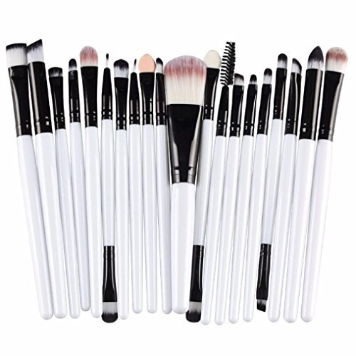 Susenstone®20 pcs/set Makeup Brush Set (White)