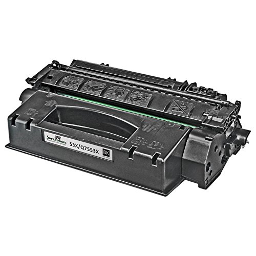 Speedy Inks - Remanufactured Replacement for HP 53X Q7553X High-Yield Laser Toner Cartridge Black for use in HP LaserJet P2015, HP LaserJet P2015d, HP LaserJet P2015dn, HP LaserJet P2015x (Printer P2015dn Hp Laserjet)