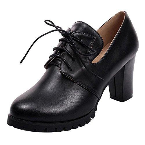 2 Fashion Shoes Zanpa Black Women XOxRUwUS