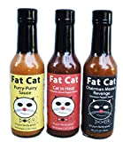 Fat Cat - Funny Cat Name 3 PACK Variety Pack sold by Fat Cat Gourmet Foods