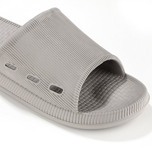 Sandals Shower 17KM Grey Slip Non Soft Slide Slipper Toe Flat Women Men Open Slippers 02 Outdoor Bath Indoor Sandals qwx8qzp