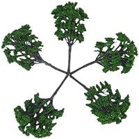 5 Piezas 1:50-75 Modelos de Árboles Modelos