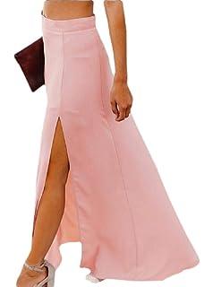 UUYUK Women Off Shoulder Tassles Hollow Fishnet 2 PCS Outfits Crop Tops Skirt Set