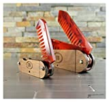 Beard and Mustache Folding Comb set, Pocket Knife Style