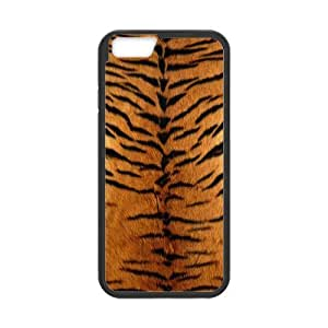 Cool Tiger King Pattern TPU Rubber Frame & Hard Plastic Back Case Cover for Iphone 6 4.7''