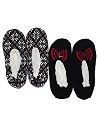K. Bell Sherpa Slipper Socks 2 Pack
