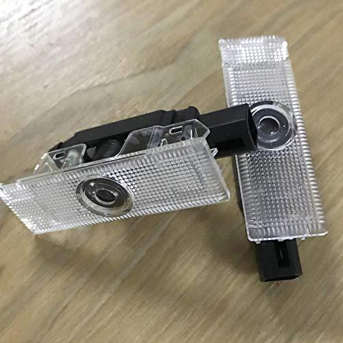decoraci/ón 3D Sunshine Fly 2 Unidades Iluminaci/ón para Puertas de Coche proyecci/ón de Logotipo