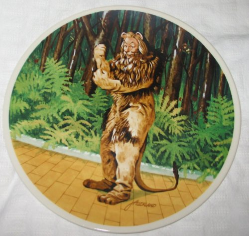 Wizard Of Oz Collectible Plates - 8