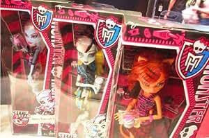 Monster High Toralei Stripe Coffin Bean Doll