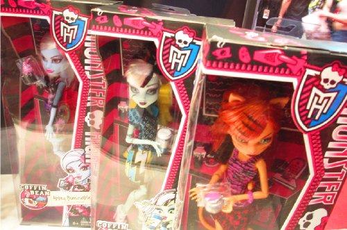 Monster High Toralei Stripe Coffin Bean Doll (Monster High Jane Boolittle??? Doll)