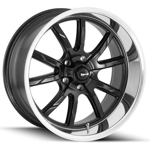 Ridler 650 Wheel with Machined Finish (18x8/5x120.65, 0mm Offset)