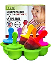 Baby Popsicle Molds BPA Free - Breastmilk Ice Pop for Teething Infant - Mini Breast Milk Teether Maker - Small Toddler Food Silicone Tray by Eparé