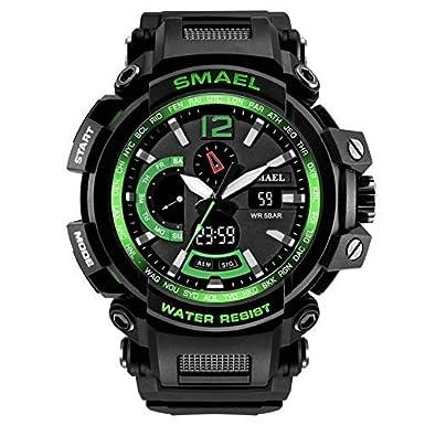 Amazon.com: SMAEL - Reloj de pulsera para hombre con ...