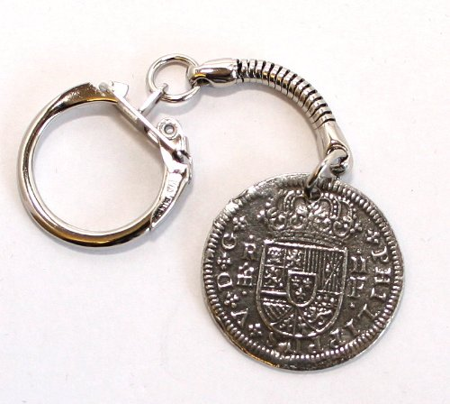 Medieval pirata para monedas key-anillo (llavero con muñeca ...