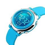 Kids Digital Watch Boy Girls Outdoor Sports LED Alarm Stopwatch Children's Dress Wristwatches