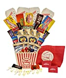 Plenty 4 You Ultimate Movie Night with Popcorn Candy Cookies Variety (Bucket Redbox Codes)