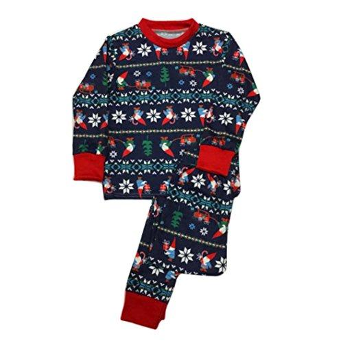 Christmas XMAS Nightwear, Sunfei Child Long Sleeve Family...