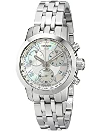 Women's T0552171111300 Analog Display Quartz Silver Watch