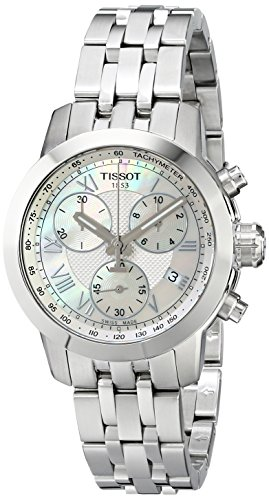 (Tissot Women's T0552171111300 Analog Display Quartz Silver Watch)