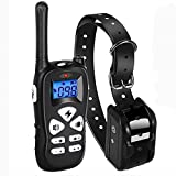 #8: Ticent Dog Training Collar 1800ft Remote Rechargeable Waterproof Electric Shock Collar with Beep Vibration Shock for Small Medium Large Dogs (2018 Upgraded)
