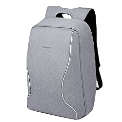 Kopack Anti Theft Laptop Backpack Shockproof Travel Bag Lightweight Scansmart Tsa Friendly Water Resistant Grey
