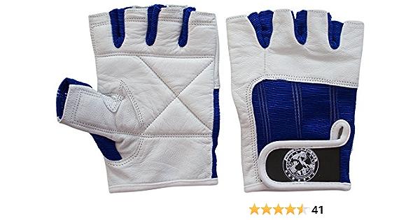 Weightlifting,Biking. Nibra Gym Wear USA Gym Gloves Black with Wrist Wrap for Man /& Women Workout Padded Crossfit