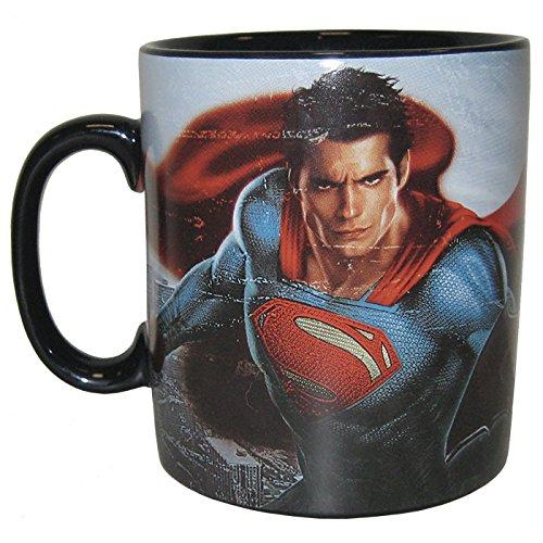 (Westland Giftware Batman Vs Superman Ceramic Mug, 14 oz, Multicolor)