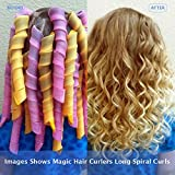 20 PCS Magic Hair Curlers Rollers No Heat for