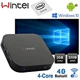 Mini PC Windows 10 Wintel W8 Intel Quad Core,Memory 2GB/32GB,Bluetooth 4.0,WiFi 2.4G