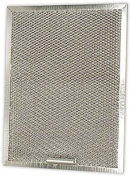 DOJA Industrial | Filtro metalico CAMPANA PANDO 60 (enmarcado) | PANDO 1 Pieza de 326x246 mm