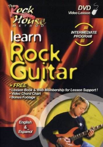 The Rock House Method: Learn Rock Guitar - Intermediate Program by Hal Leonard