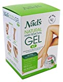 Nads Hair Removal Gel Kit 6 Ounce Gel (177ml) (6 Pack)