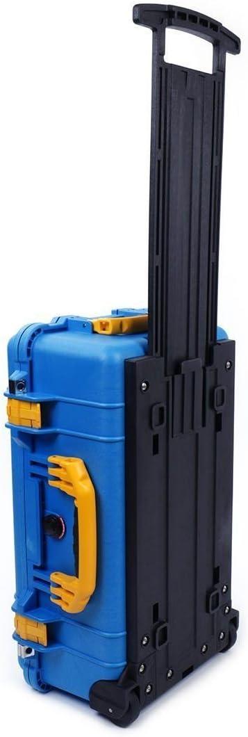 No Foam Pelican Blue /& Yellow 1510 Case empty With wheels.