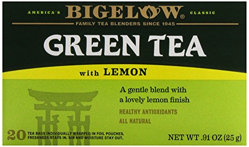 Bigelow Tea Green Tea with Lemon, 20 ct