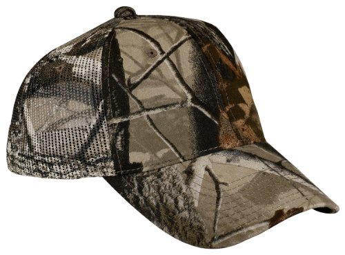Port Authority Men's Pro Camouflage Series Cap with OSFA Realtree Hardwoods